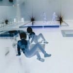 Immagini opera multimediale: Il giardino dei veleni - Teatro SalaUno, 2005